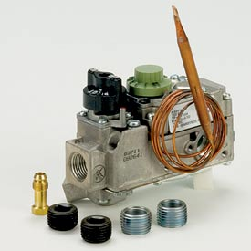 """Gas Heating Valve - 1/2"""" Inlet & Outlet, 36"""" Cap. Length, Hydraulic Snap Action"""