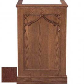 # 201 Single Pulpit, Dark Oak Stain