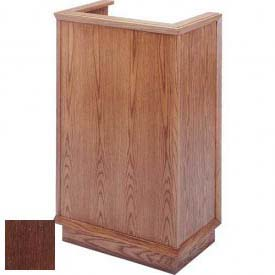 # 401 Single Pulpit, Dark Oak Stain