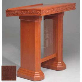 # 5405 Pulpit, Dark Oak Stain