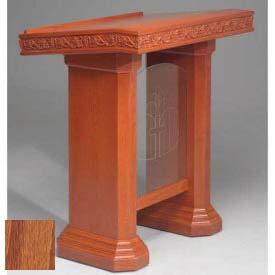 # 5405 Pulpit, Medium Oak Stain