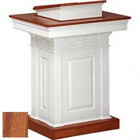 # 8201 Pulpit, Medium Oak Stain