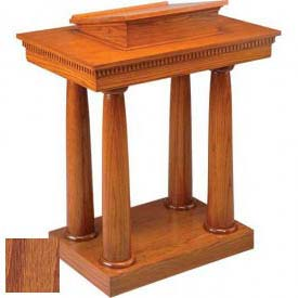 # 8301 Pulpit, Medium Oak Stain