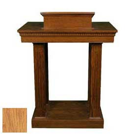 # 8401 Pulpit, Light Oak Stain