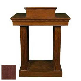 # 8401 Pulpit, Dark Oak Stain