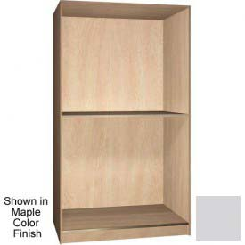 Ironwood 2 Compartment Open Storage Cabinet, Folkstone Color