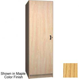 Ironwood 1 Compartment Solid Door Storage Locker, Natural Oak Color