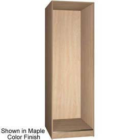 "Ironwood 1 Compartment Open Storage 30"" D Locker, Maple Color"