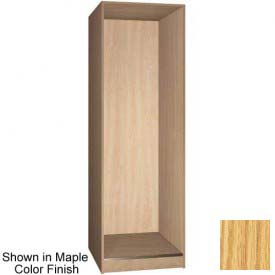 "Ironwood 1 Compartment Open Storage 30"" D Locker, Natural Oak Color"