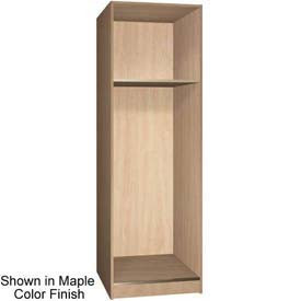 "Ironwood 1/3 Upper, 2/3 Lower Compartment Open 30"" D Locker, Maple Color"