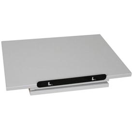 """Buy Revolving Dictionary Stand Table Top 22""""W x 16""""D x 5-1/2""""H Gray"""