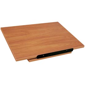 """Buy Revolving Dictionary Stand Table Top 22""""W x 16""""D x 5-1/2""""H Oiled Cherry"""