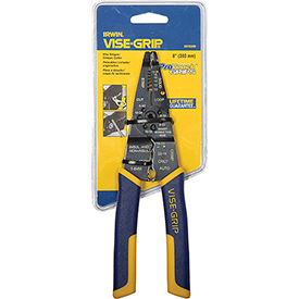 "8"" Multi Tool Stripper/Cutter/Crimper w/ProTouch Grips by"