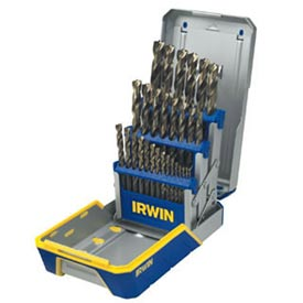 29 Pc. Drill Bit Industrial Set Case, TURBOMAX