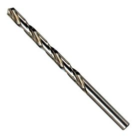Wire Gauge Straight Shank Jobber Length Drill Bit-No. 23 Gen. Purpose HSS - Pkg Qty 6
