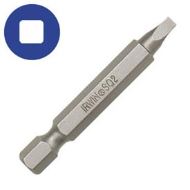 #2 Square Recess Power Bit-1-15/16""
