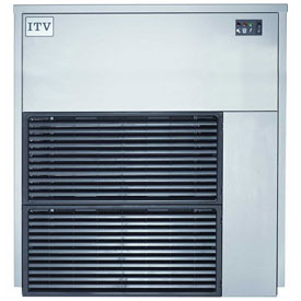 ITV IQ 1300 A III Modular Ice Machine, Flake Style, Produces Up To 1430 Lbs. Per Day by
