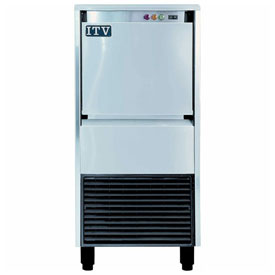 ITV IQ 200C A Undercounter Ice Machine, Flake Style, Produces Up To 220 Lbs. Per Day by