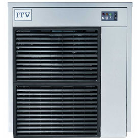 ITV IQ 300 A Modular Ice Machine, Flake Style, Produces Up To 360 Lbs. Per Day by