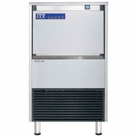 ITV SPIKA NG 125 A1H Undercounter Ice Machine, Half Dice Style, Produces Up To 143 Lbs.... by