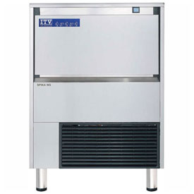 ITV SPIKA NG 175 A1F Undercounter Ice Machine, Full Dice Style, Produces Up To 214 Lbs.... by