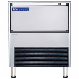 ITV SPIKA NG 285 A1F Undercounter Ice Machine, Full Dice Style, Produces Up To 312 Lbs.... by
