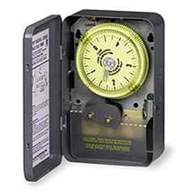Intermatic C8835 NEMA 1-125V SPDT Time Switch, 30 Minute Cycle With 15 Sec.Tripper Actuating Time