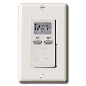 Intermatic EI500LAC Digital 7-Day Timer 15 Amp 120V, Light Almond