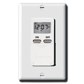 Intermatic EI500WC Digital 7-Day Timer 15 Amp 120V, White