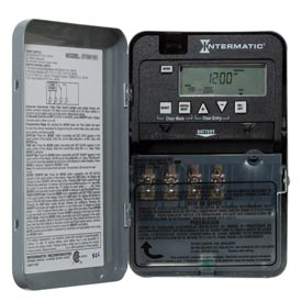 Intermatic ET1105C 24-Hour 30 Amp SPST Elec. Timeswitch - Clock Voltage 120-277V NEMA 1