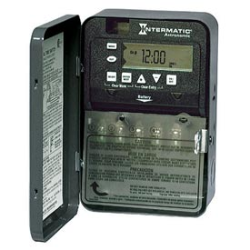 Intermatic ET8115CPD82 7-Day 20/30 AMP SPDT Electro Astro Timeswitch-Clock 120-277V NEMA3R Plastic
