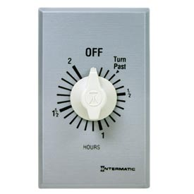 Intermatic FF2H 2 Hour 125-277V SPST Commercial Series Spring Wound Timer