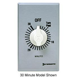 Intermatic FF60MC 60 Minute 125-277V SPST Commercial Series Spring Wound Timer