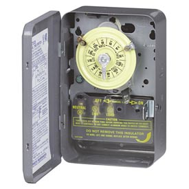 Intermatic T103R NEMA 3R - 24 Hour Dial Mechanical Time Switch, NEMA 3R Case, 125V, DPST