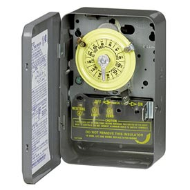 Intermatic WH40 NEMA1 - Water Heater Time Switch, w/External Manual Override Switch, 250V