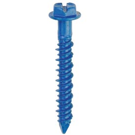 """ITW Tapcon 24315 - 1/4"""" x 1-1/4"""" Concrete Anchor - Hex Head - Made In USA - Pkg of 75"""