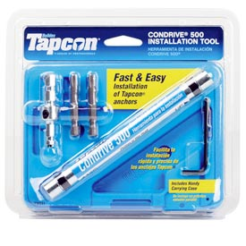 ITW Tapcon 79011 - Condrive 500 Installation Tool - Made In USA