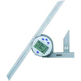 InSize Stainless Steel Protractor 0 - 360°, 2172-360A