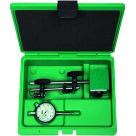 Insize 2 Piece Measuring Tool Set-Dial Indicator & Magnetic Stand, 5002-4e by