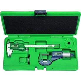 InSize 2 Piece Electronic Caliper & Micrometer Measuring Tool Set, 5022 by