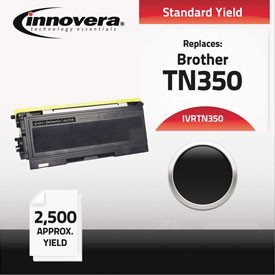 Buy Innovera Remanufactured TN350 Laser Toner, 2500 Page-Yield, Black