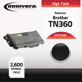 Buy Innovera Remanufactured TN360 Laser Toner, 2600 Page-Yield, Black