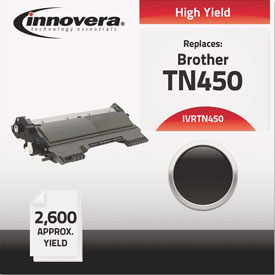 Buy Innovera Remanufactured TN450 Laser Toner, 2600 Page-Yield, Black