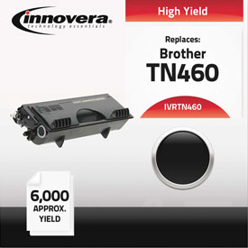 Buy Innovera Remanufactured TN460 Laser Toner, 6000 Page-Yield, Black