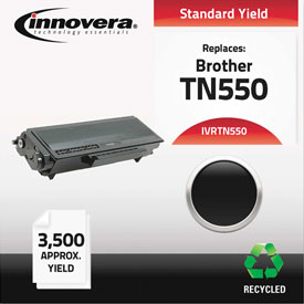 Buy Innovera Remanufactured TN550 Laser Toner, 3500 Page-Yield, Black