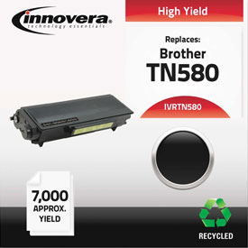 Buy Innovera Remanufactured TN580 Laser Toner, 7000 Page-Yield, Black