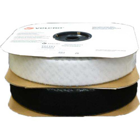 """VELCRO Brand Black Loop With Acrylic Adhesive 3/4"""" x 75' by"""