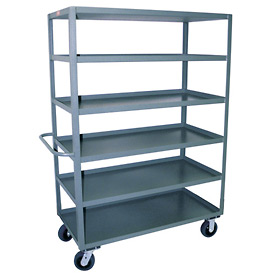 Jamco 6 Shelf Stock Truck CF472 36 x 72
