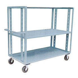 Jamco Adjustable Shelf Stock Truck CZ472 36 x 72