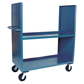Jamco 2 Sided Solid Truck DB236 with 2 Shelves 24 x 36